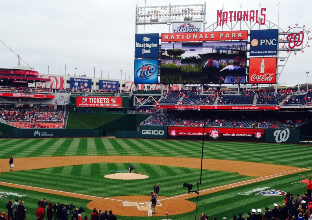 Nationals Park Opening Day 2014